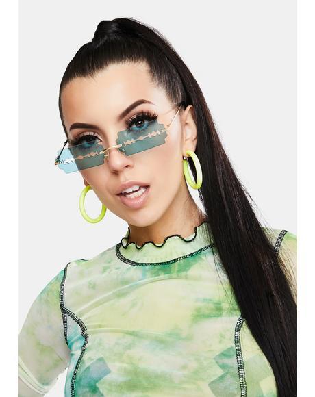Lethal Razor Blade Sunglasses