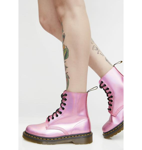 Dr. Martens Iced Metallic Pascal Boots