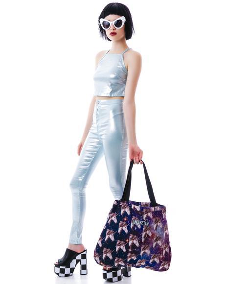 Kaleidoscope Unicorn Tote Bag