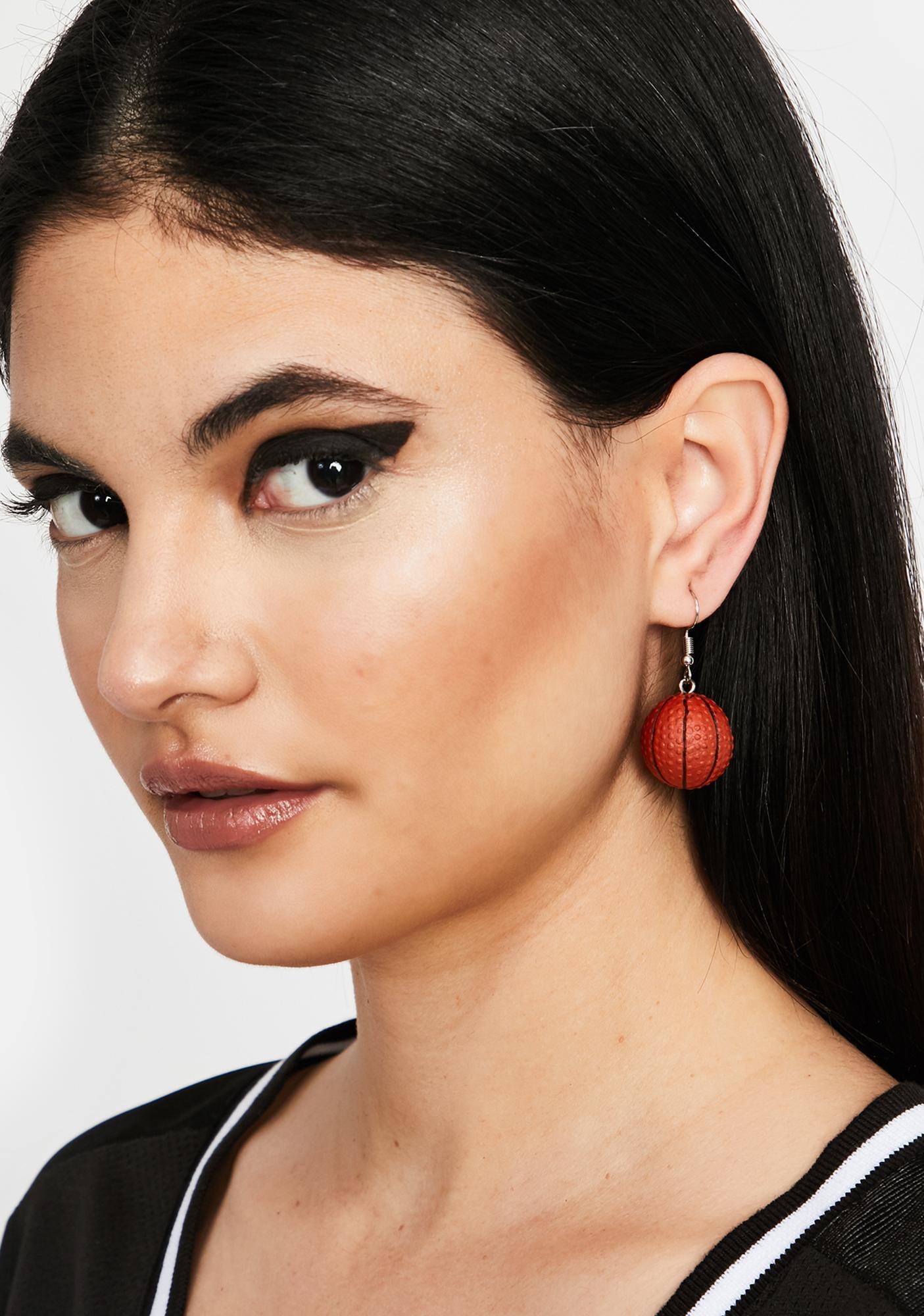 Nothing But Net Drop Earrings