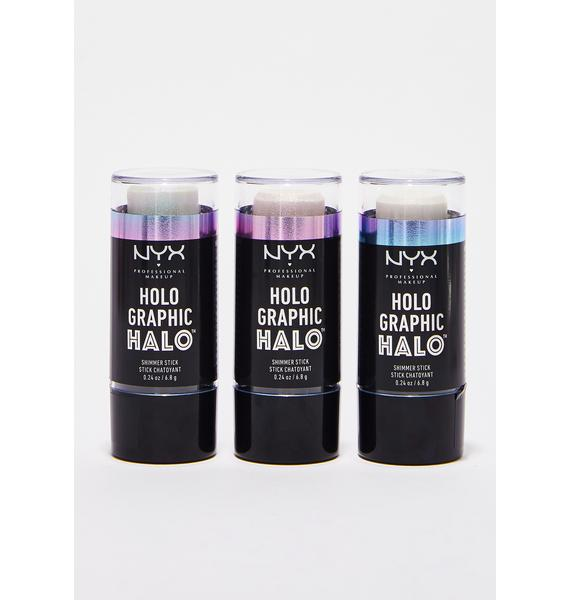 NYX Primal Holographic Halo Shimmer Stick