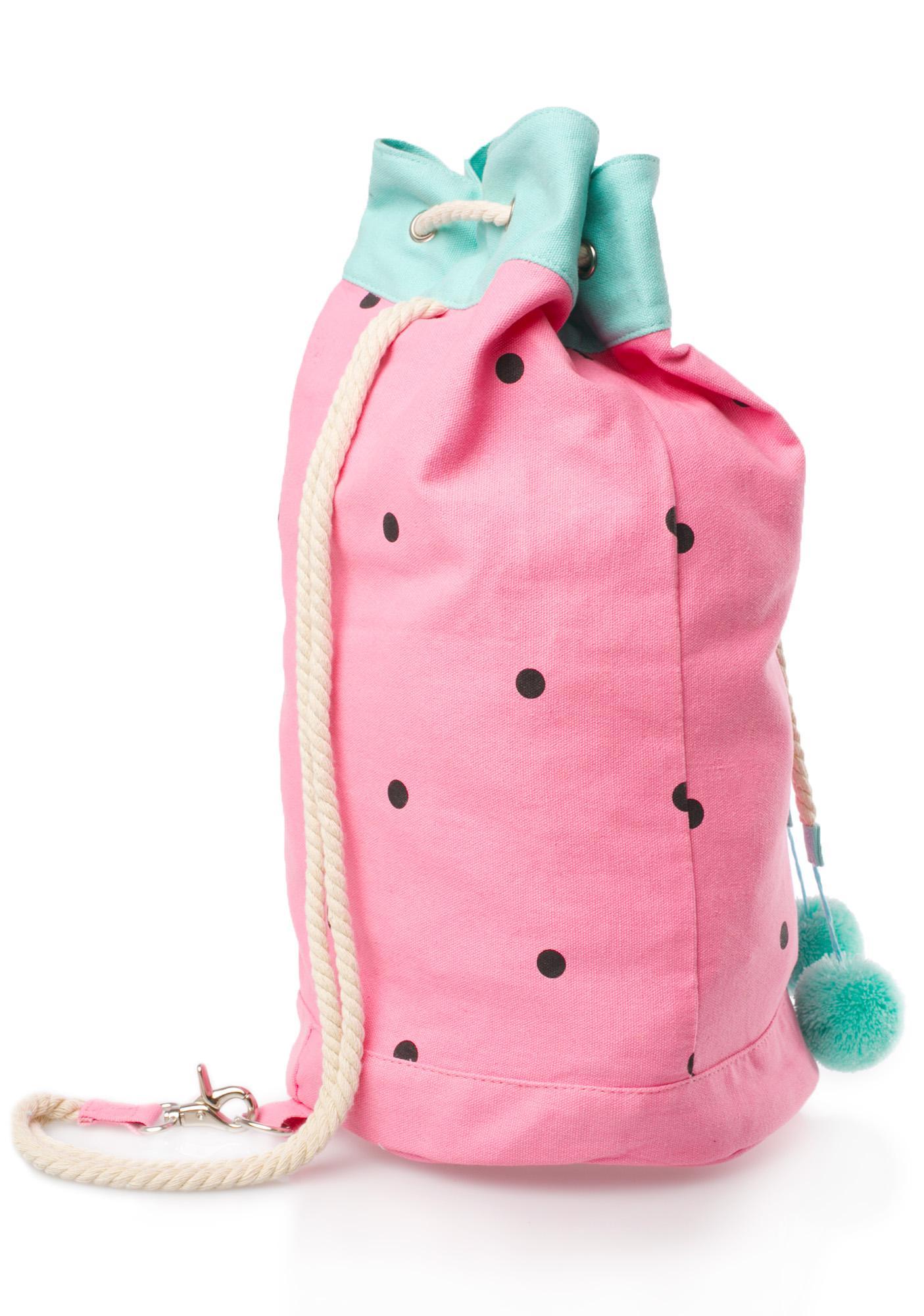 Lazy Oaf Watermelon Duffel Bag