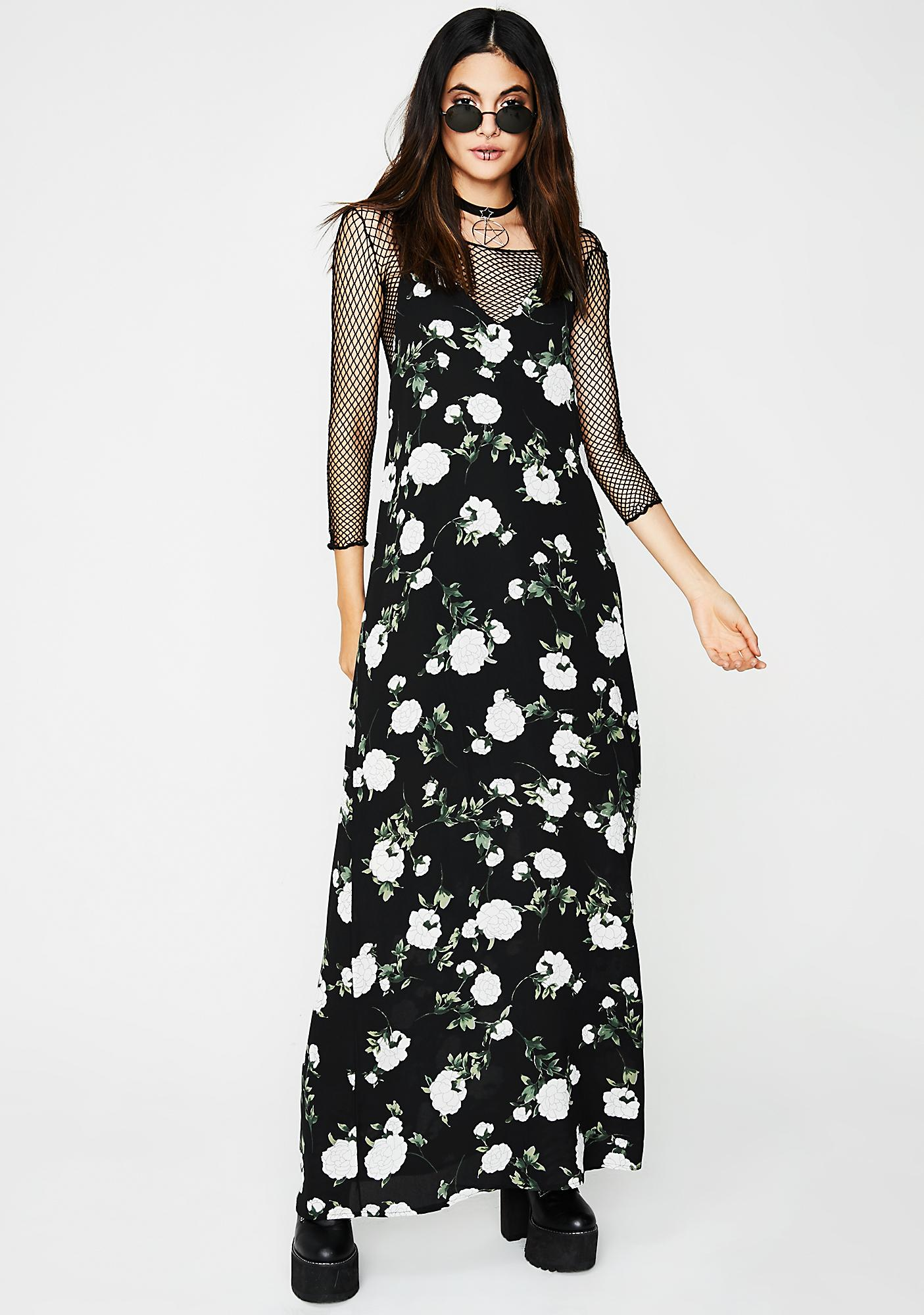 Business Is Bloomin' Maxi Dress