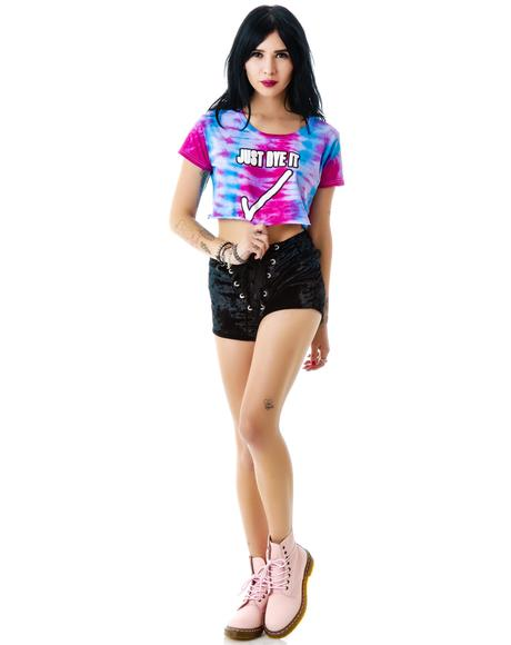 The Just Dye It Cropped Tee