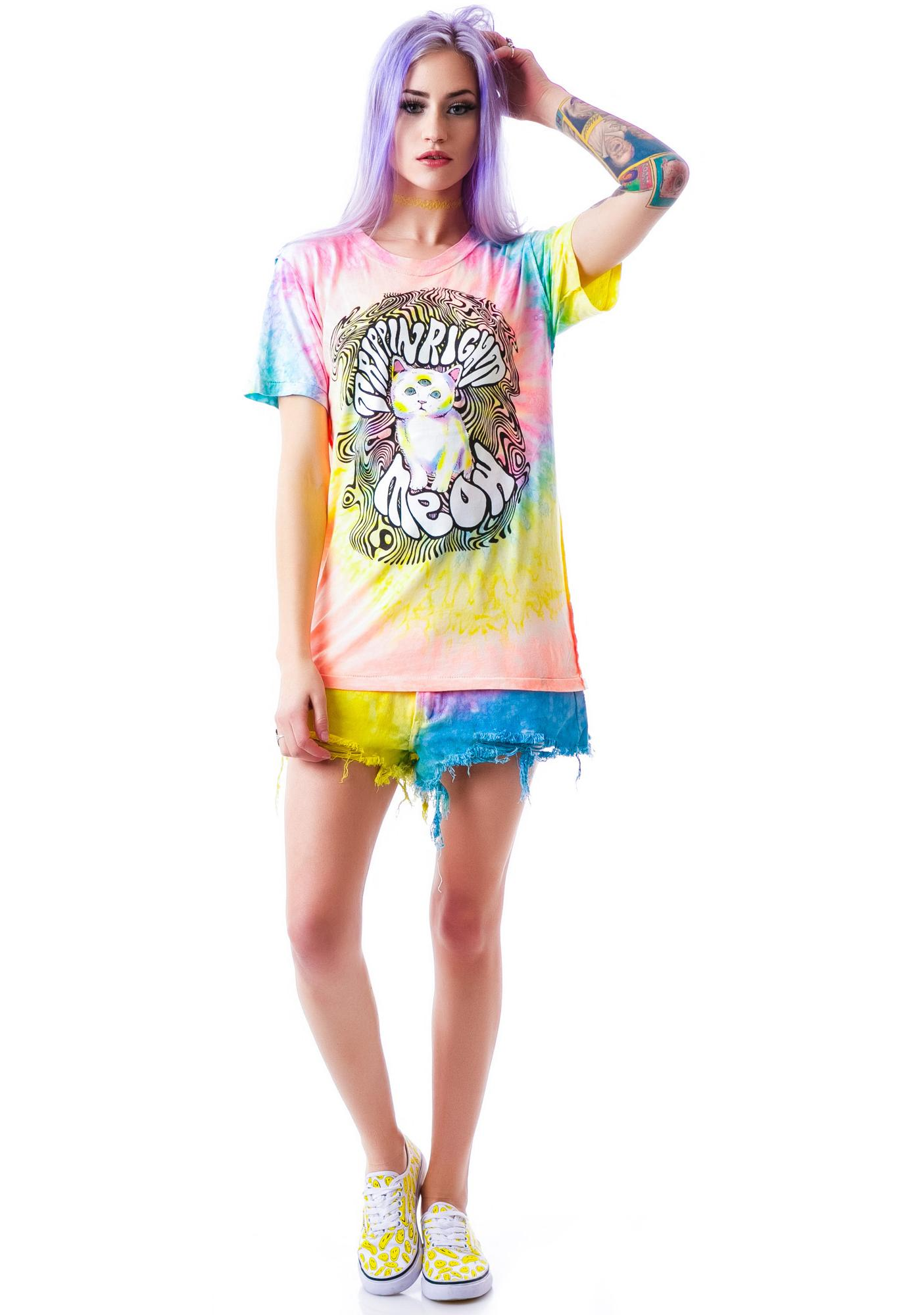 UNIF Right Meow Short Sleeves Tee