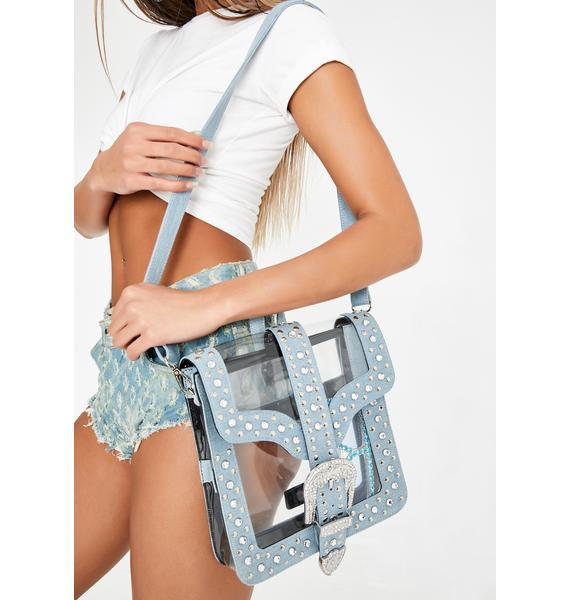 Club Exx Cavern Crazy Clear Backpack