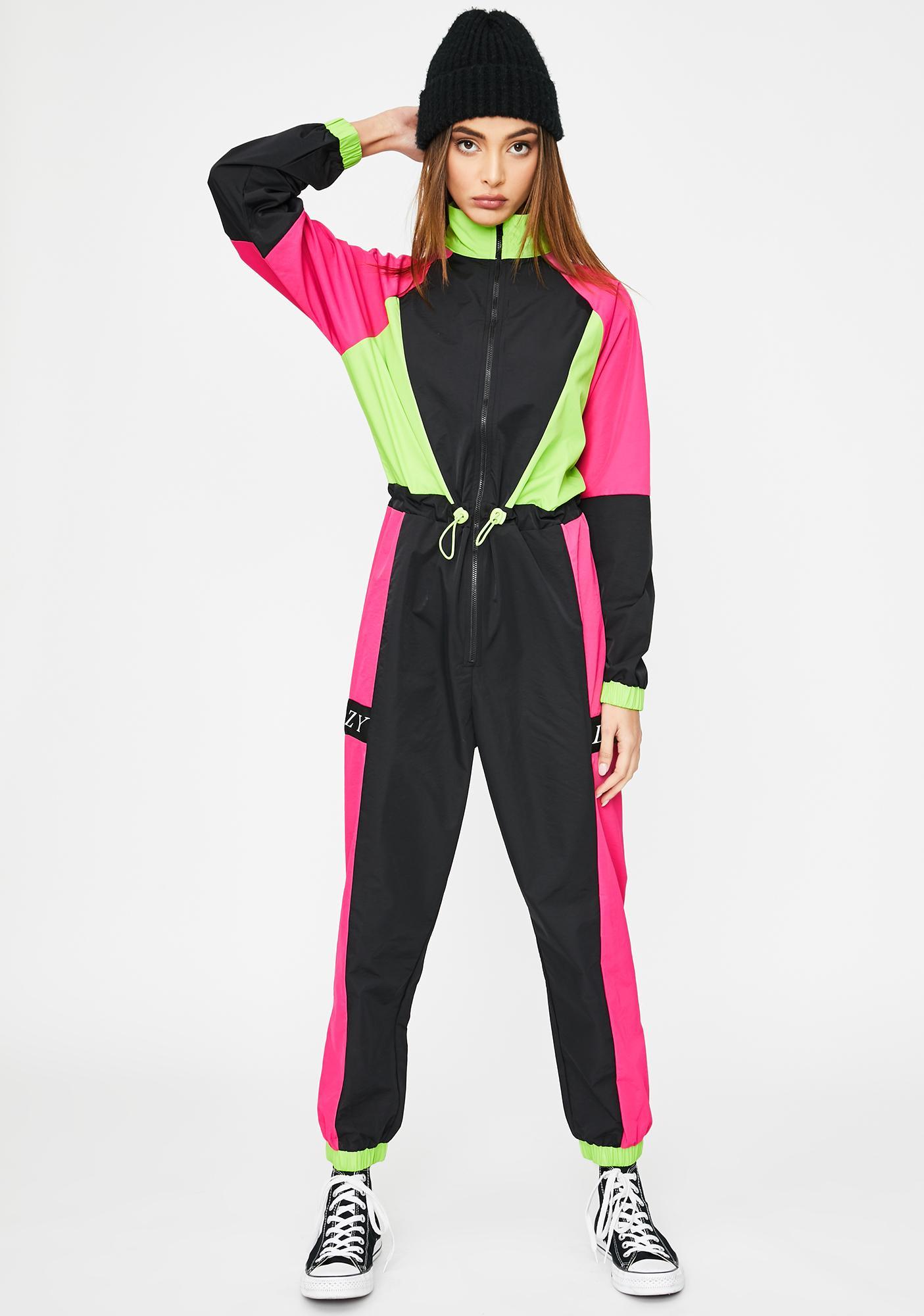Lazy Oaf Looks Like Skiwear Jumpsuit