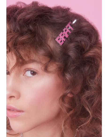 Be A Brat Hair Pins