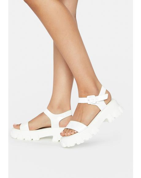 Icy Into The Darkness Sandal