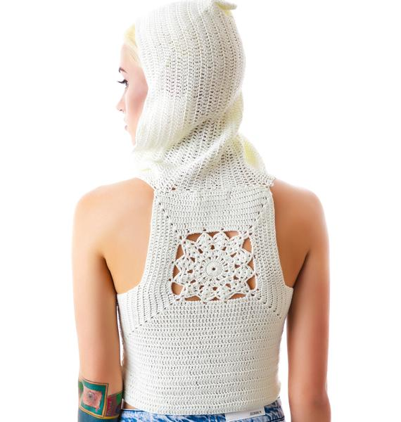 Mellow Out Crochet Crop Top