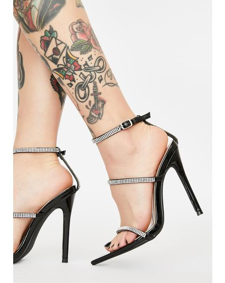 Buy Me Thingz Rhinestone Heels