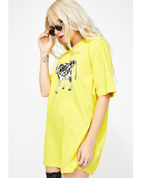 Cow Graphic Tee