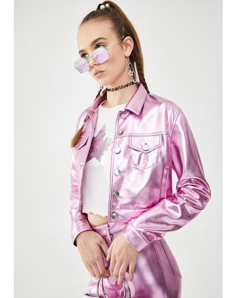 Made Of Dreams Metallic Jacket