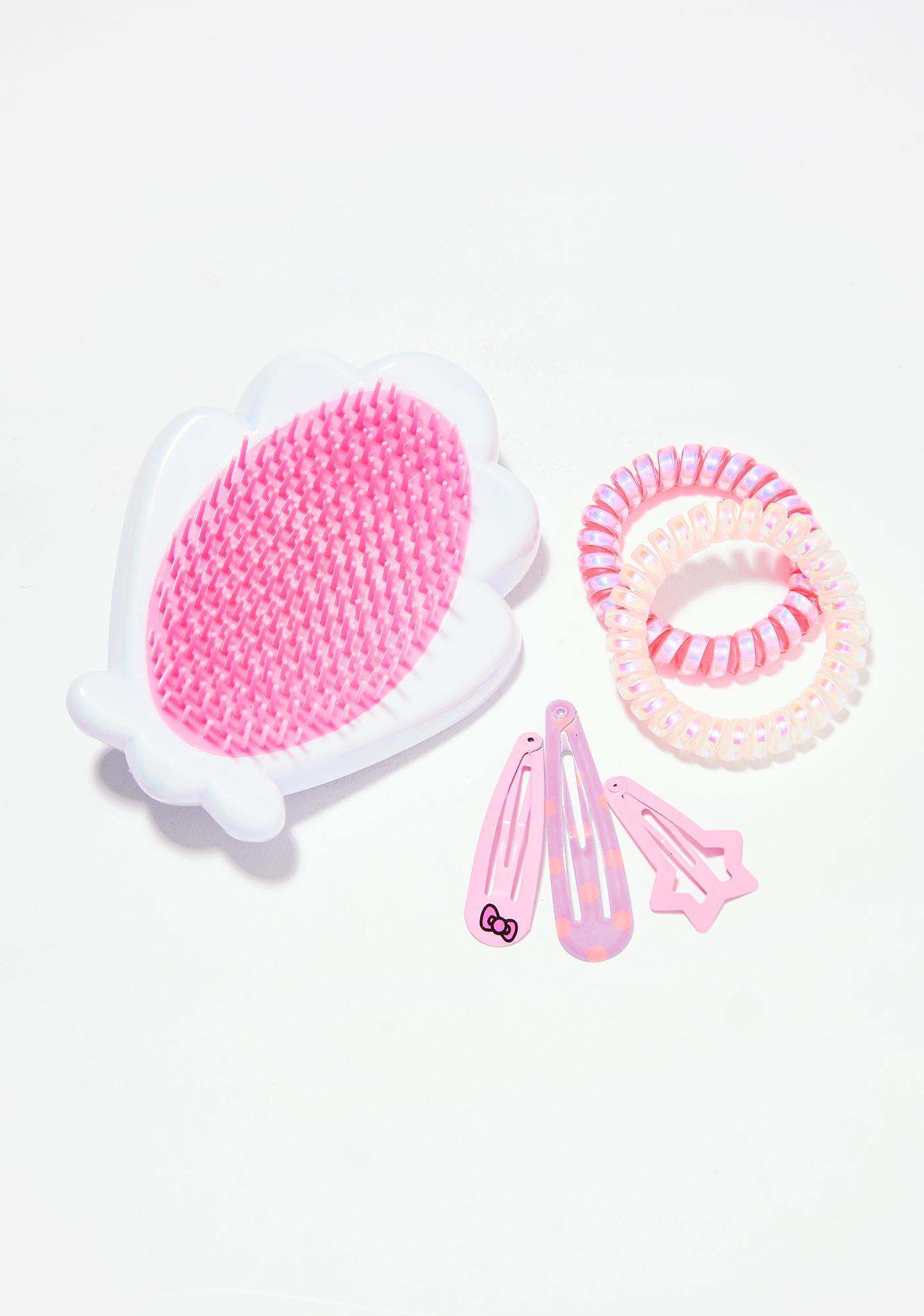 Skinnydip Iridescent Hair Brush