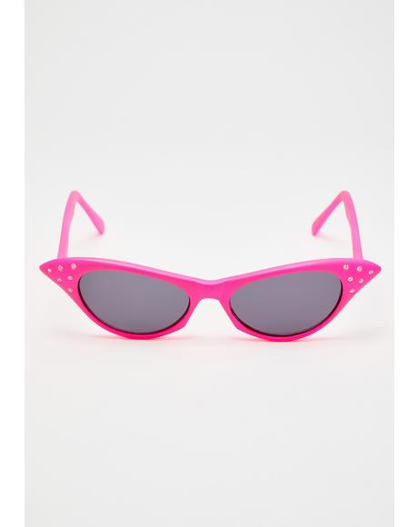 Candy BLAM! Cat Eye Sunglasses