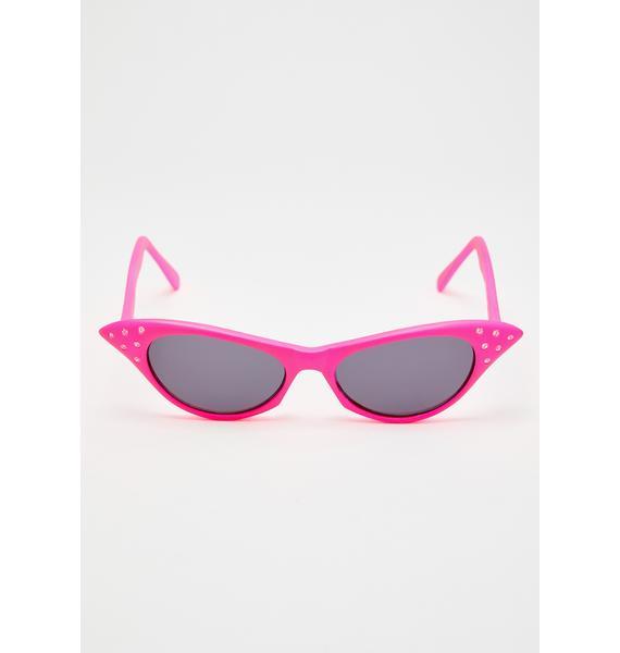 Giant Vintage Candy BLAM! Cat Eye Sunglasses