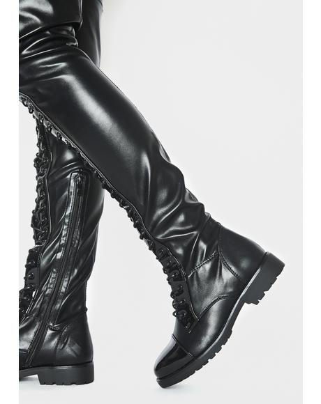 Revived Thigh High Boots