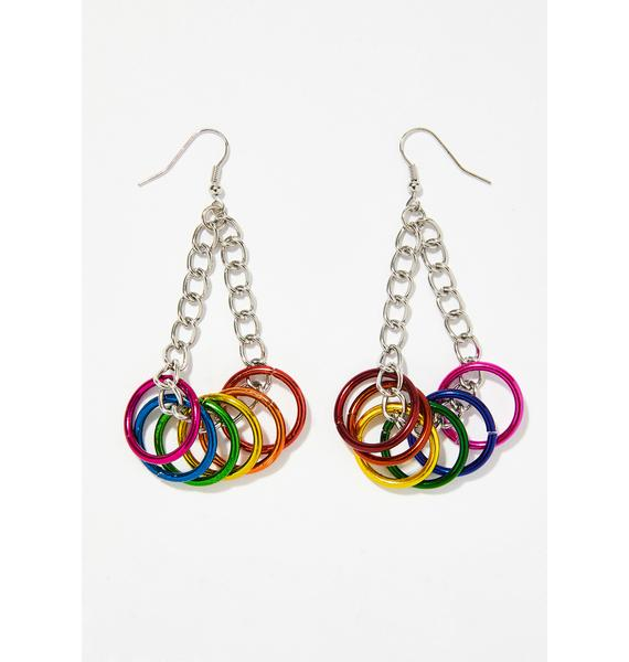 Love Is Love Ring Earrings