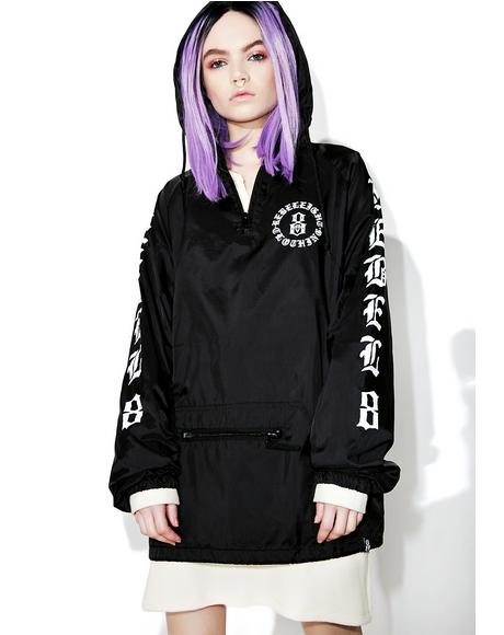 Immortals Black Anorak