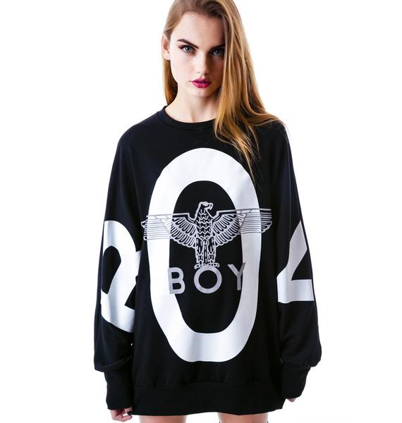 BOY London Eagle BOY Batwing Sweater