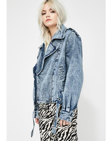 Acid Queen Denim Jacket