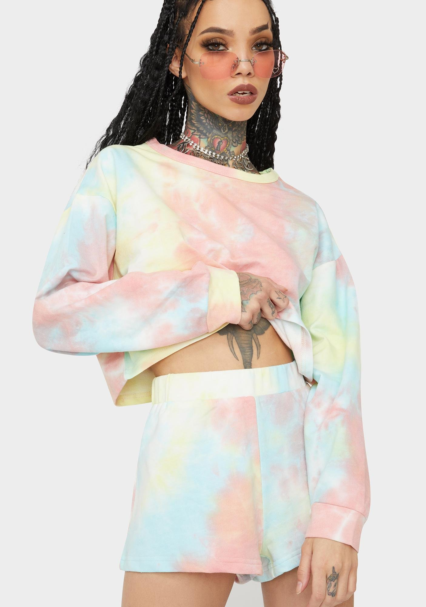 Keep Your Cool Cropped Sweater