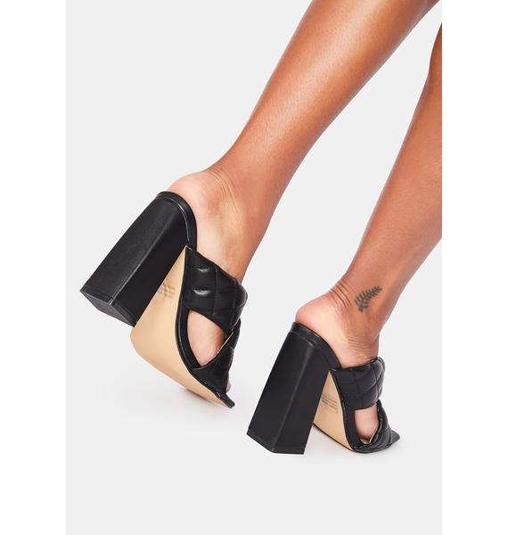 Exceed Expectations Heeled Sandals