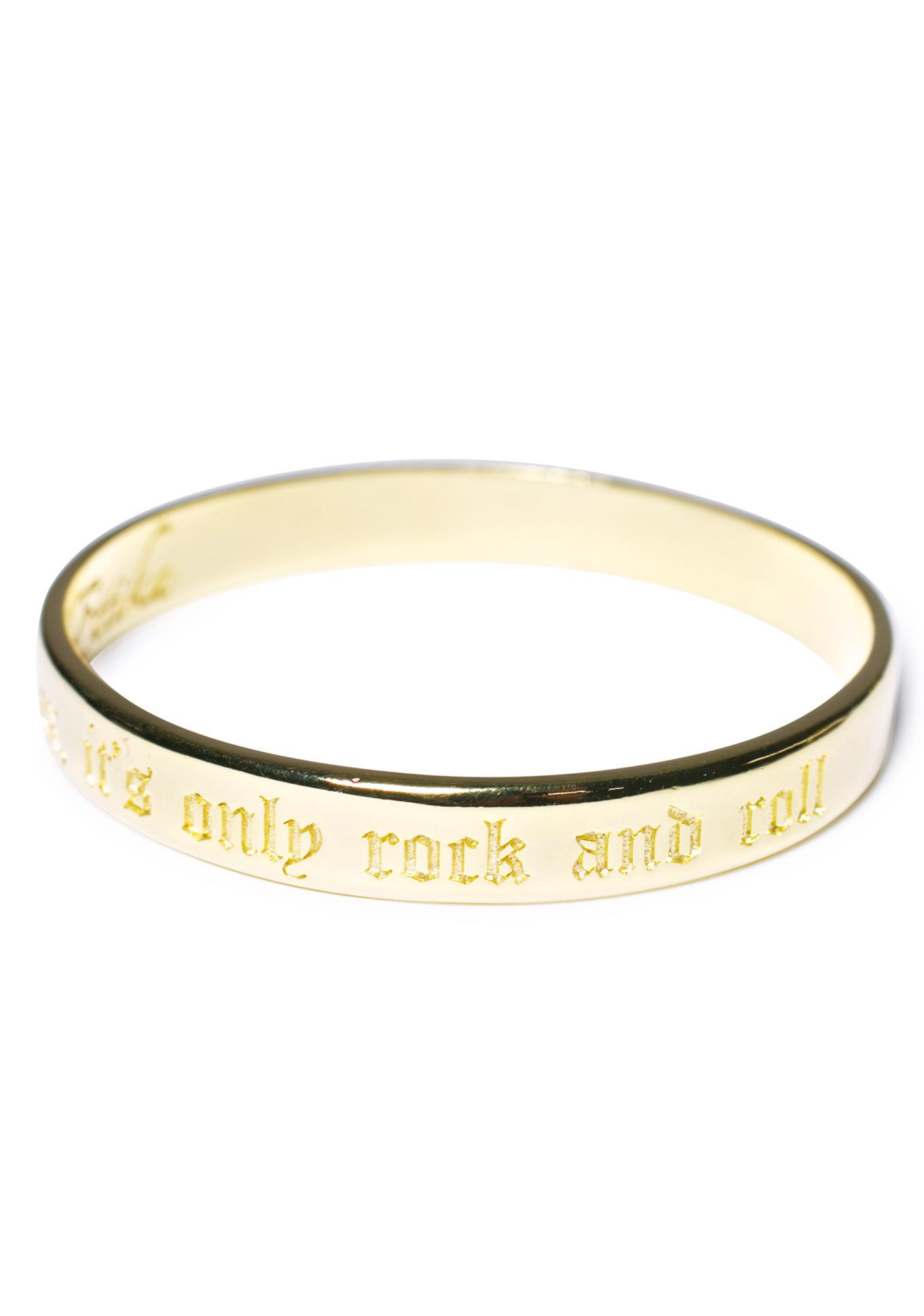 Ettika Relax, It's Only Rock And Roll Booyah Bangle
