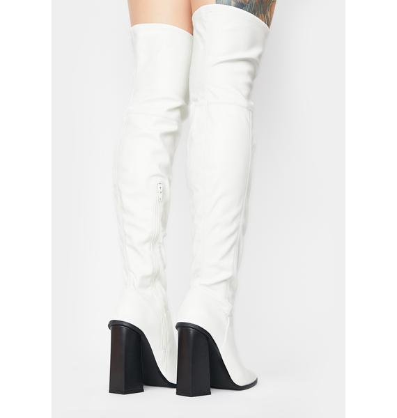Public Desire Ryleigh Over The Knee Boots