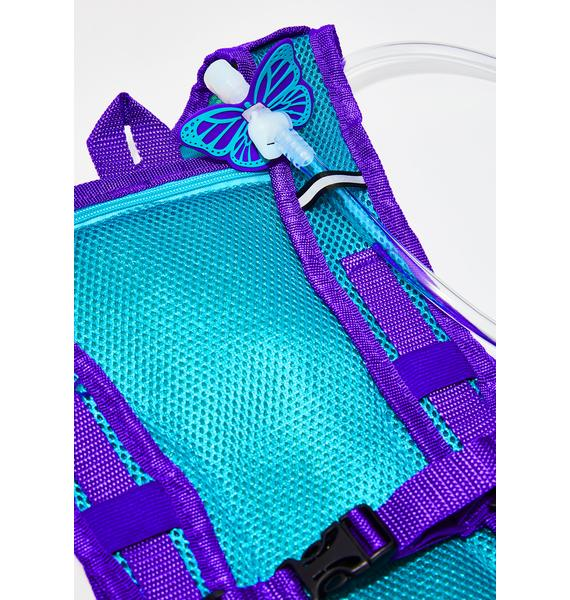 Dan-Pak Glitter Pills Hydration Backpack