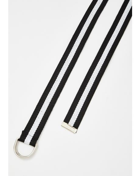 Winners Only Striped Belt