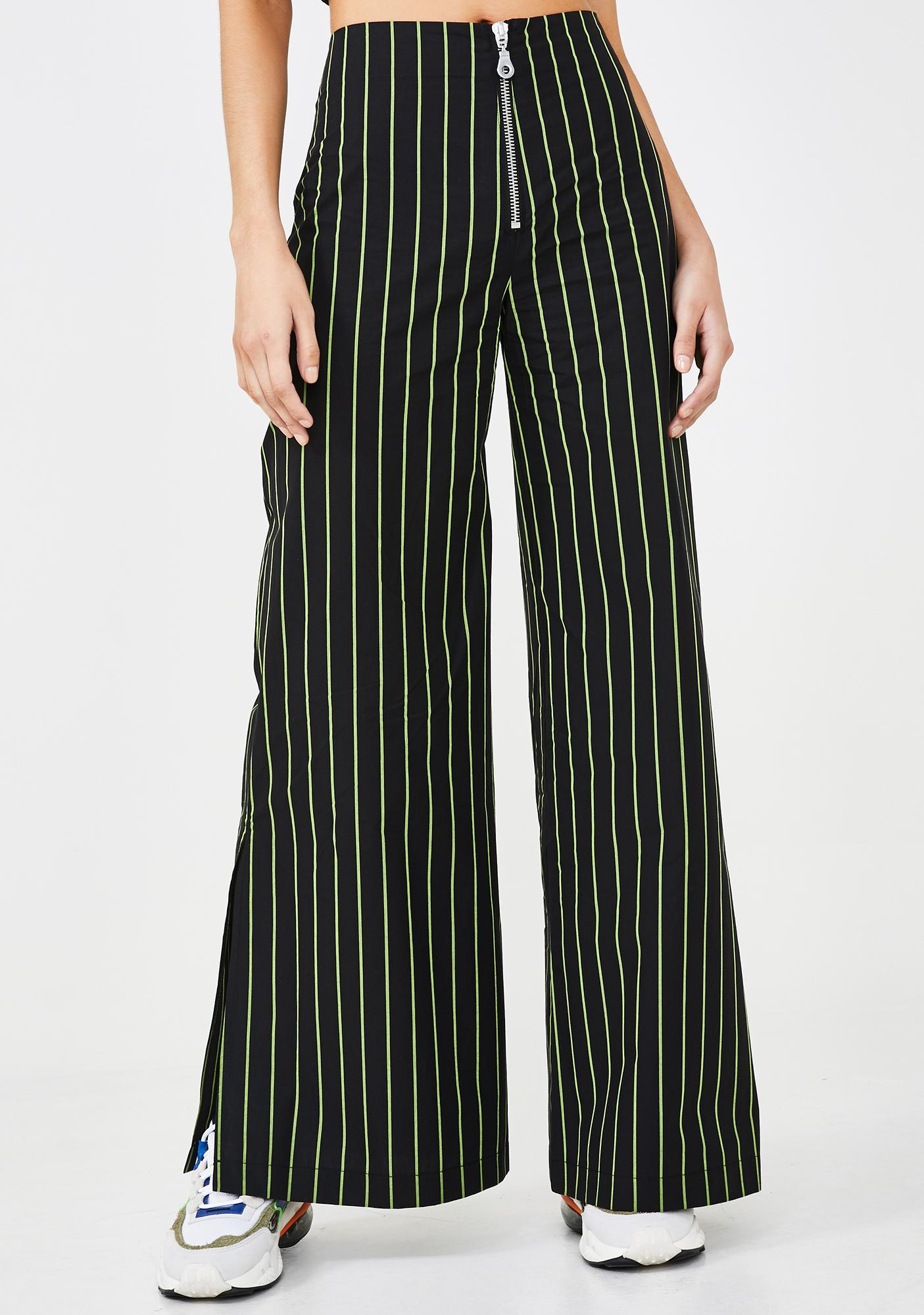 The Ragged Priest Cyber Pinstripe Pants