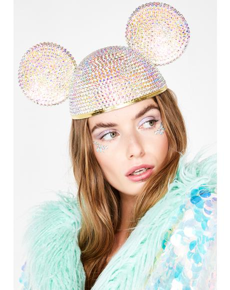 Crystal Ears Hat