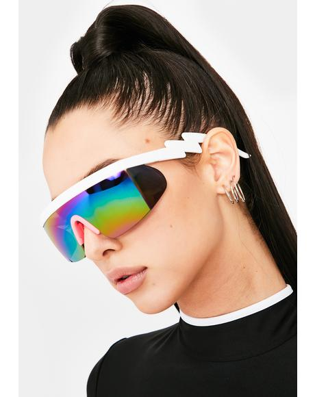 Sweet Major Drip Shield Sunglasses