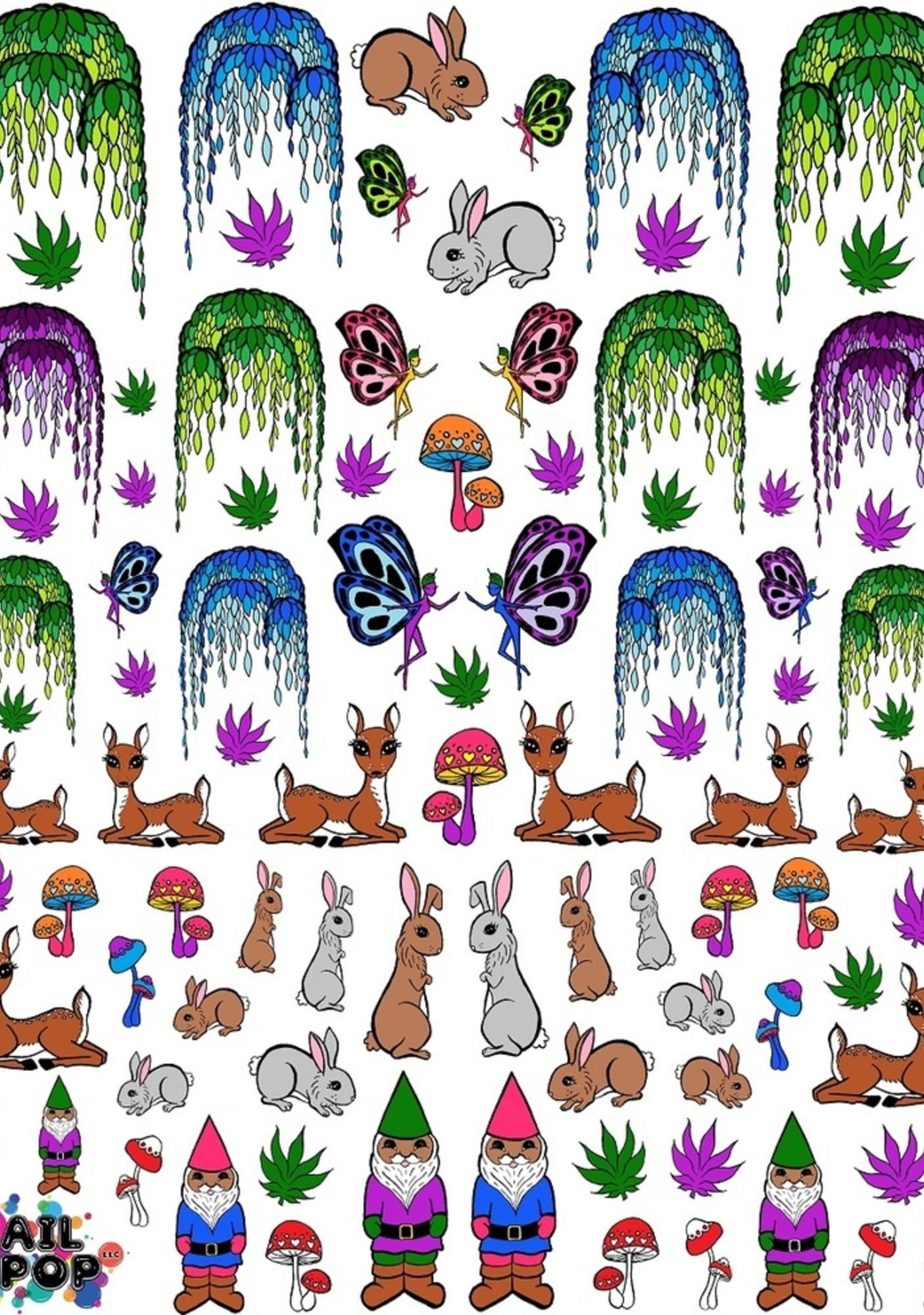 Nail Pop Enchanted Forest Nail Decals
