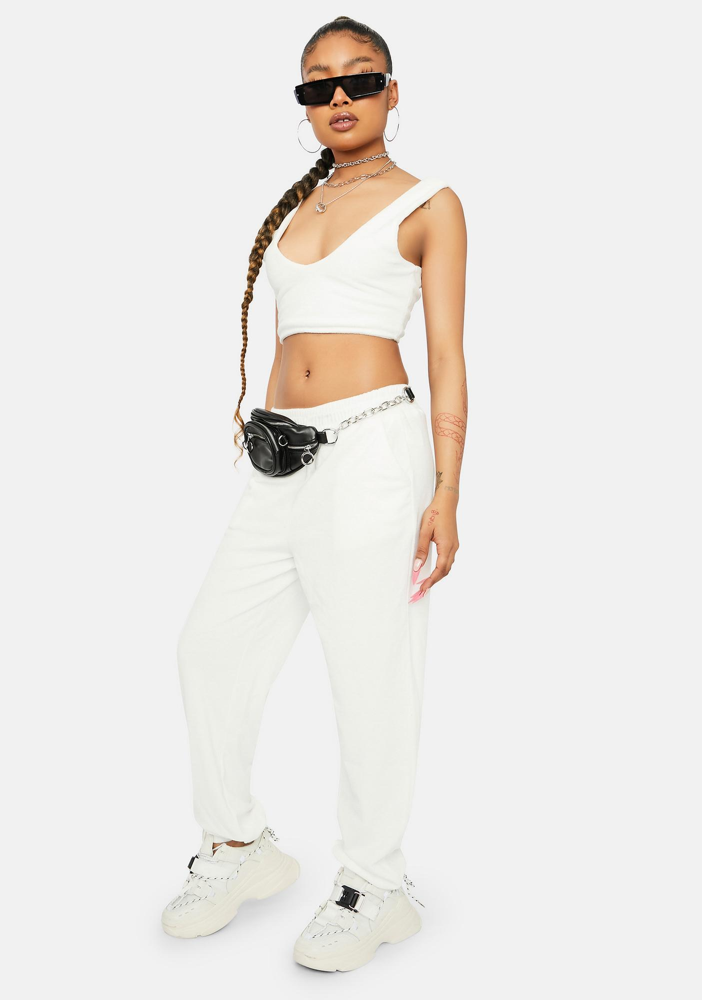 Pure Downtime Bliss Terry Tank Joggers Set