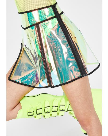Flash Spectrum Clear Skirt