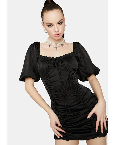 Love Me Right Ruched Dress