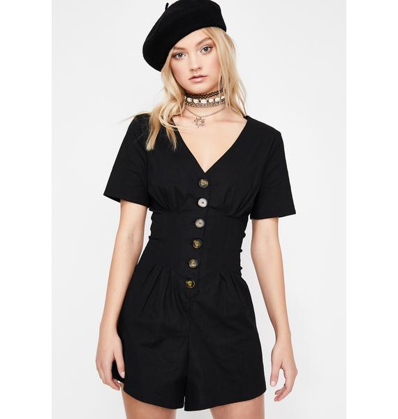Sunday Best Darted Romper