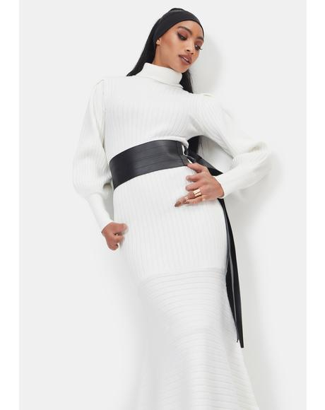 Angel There You'll Be Knit Maxi Dress