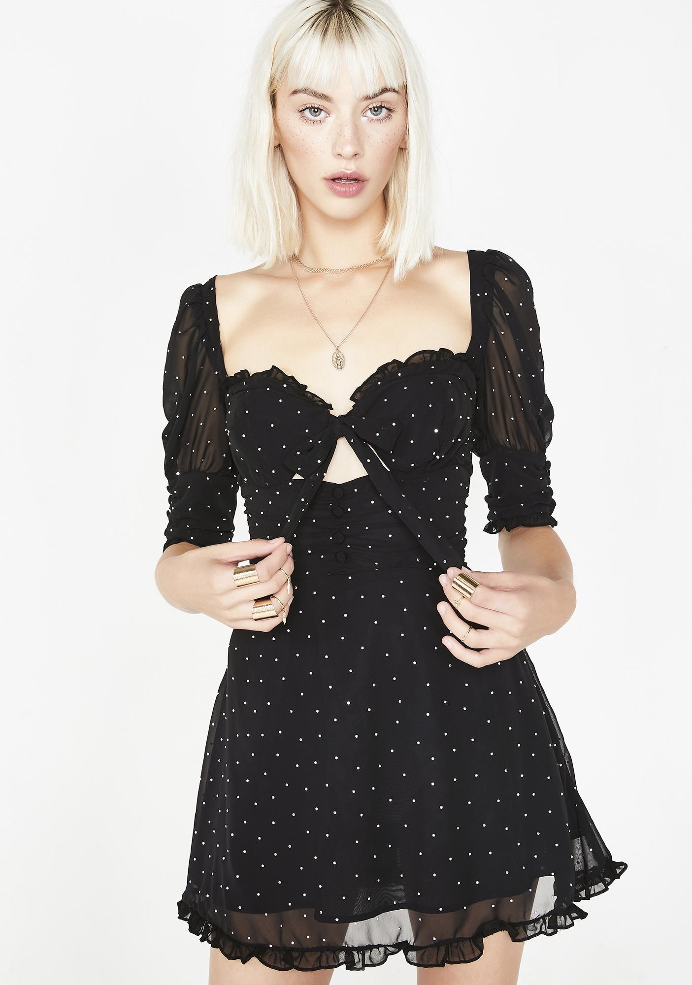 a06d28221ae For Love   Lemons Lucky Dice Mini Dress