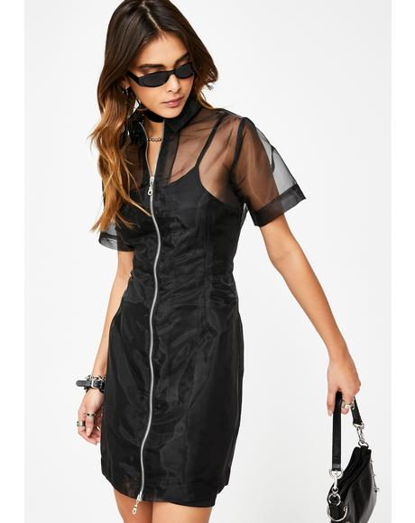 Hacker Organza Dress