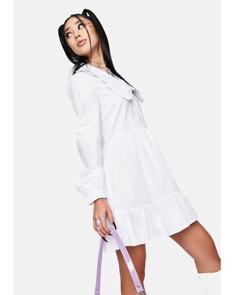 Eli Oversized Collar Dress