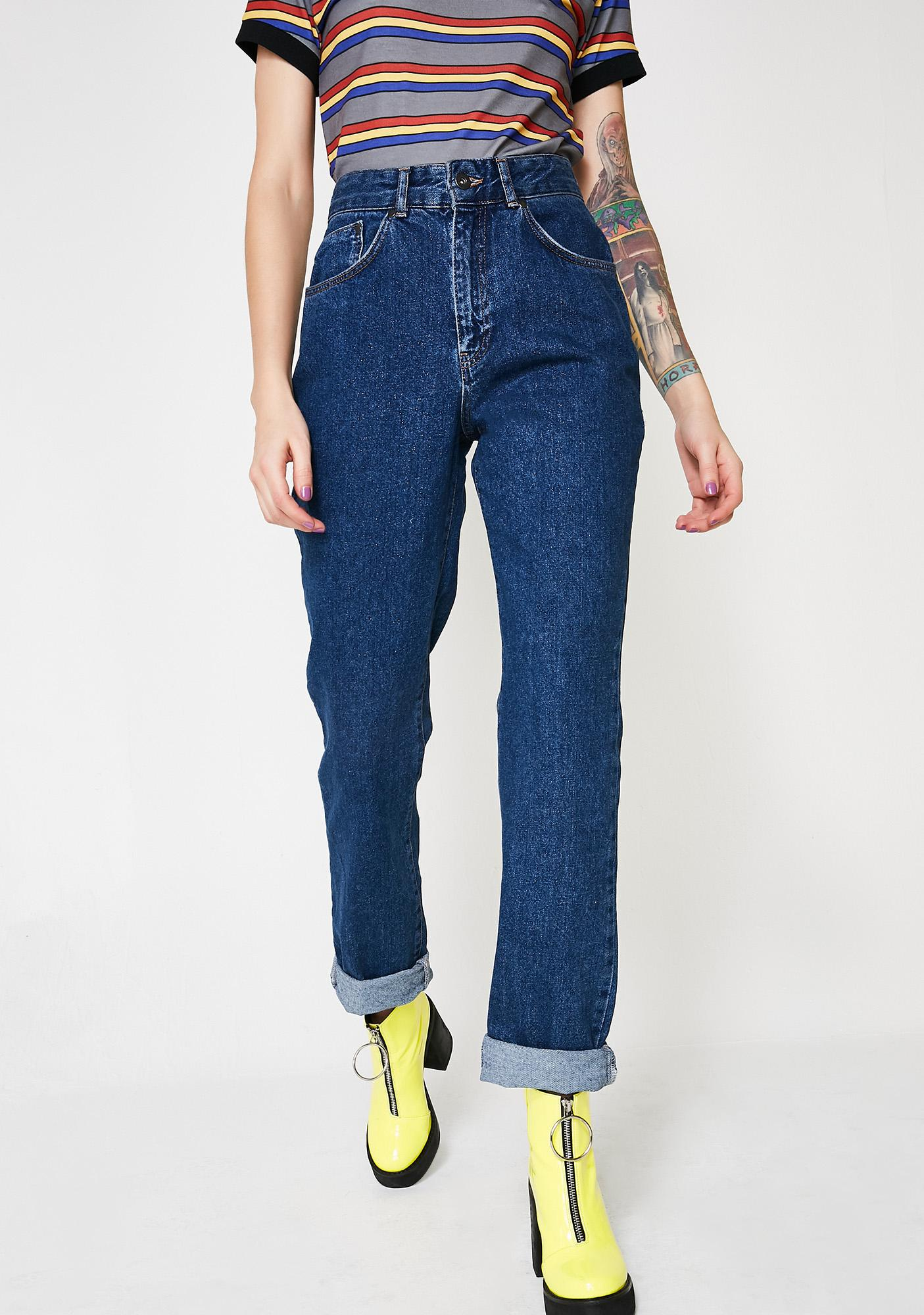 The Ragged Priest Indigo Double Butt Cut Jeans