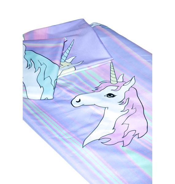 Sugarpills Pastel Ponyz Bed Sheets