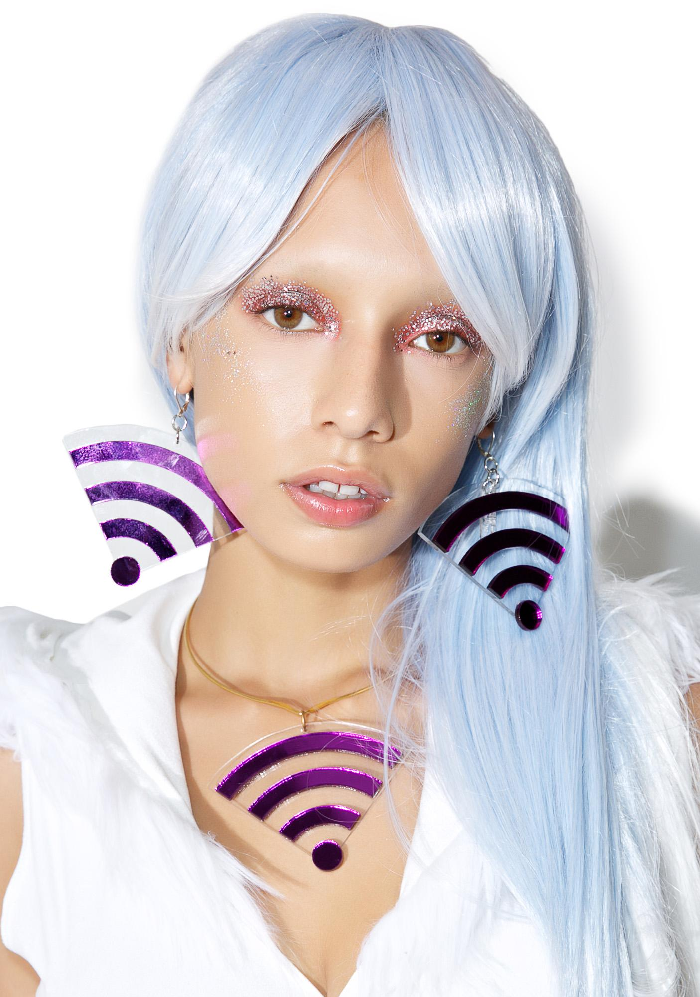 Marina Fini Wifi Earrings