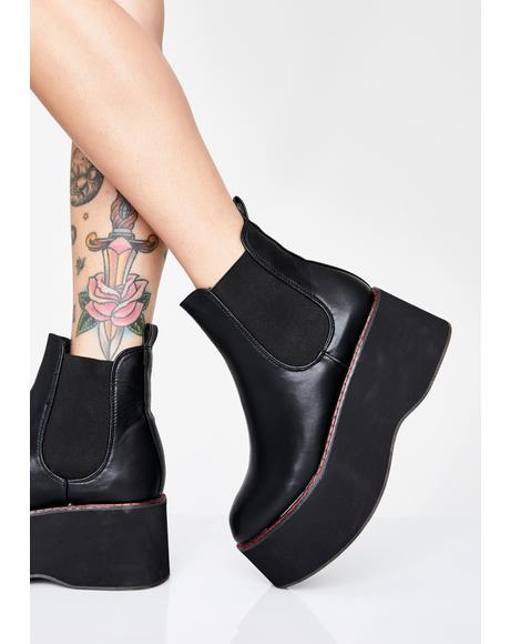 Neo Platform Chelsea Boots