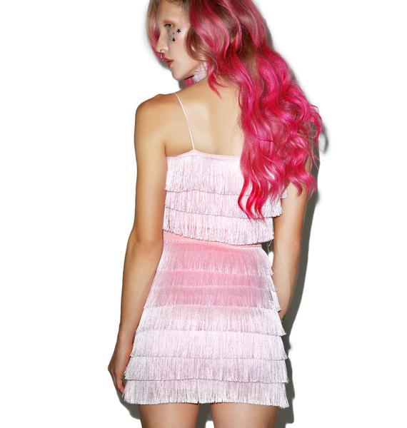 O Mighty Daydreamin' Fringe Skirt