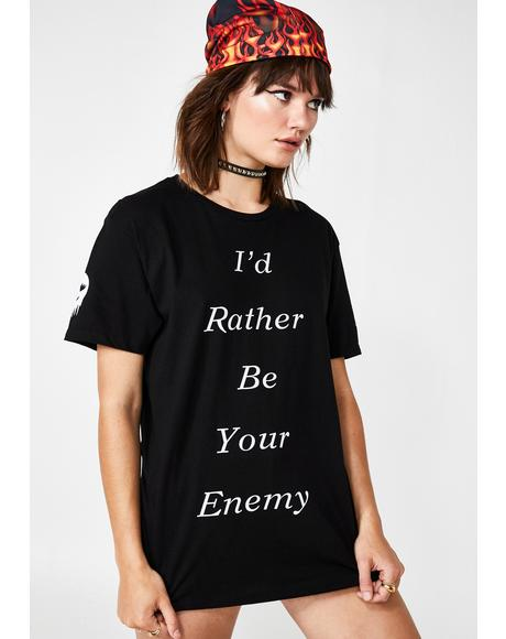 I'd Rather Graphic Tee