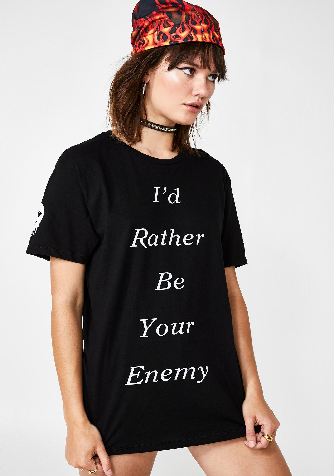 LOVESICK I'd Rather Graphic Tee